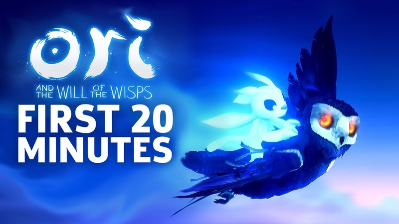 Ori And The Will Of The Wisps First 20 Minutes Of Gameplay