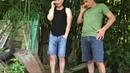 Каха и Серго снимают телок на дорогой тачке
