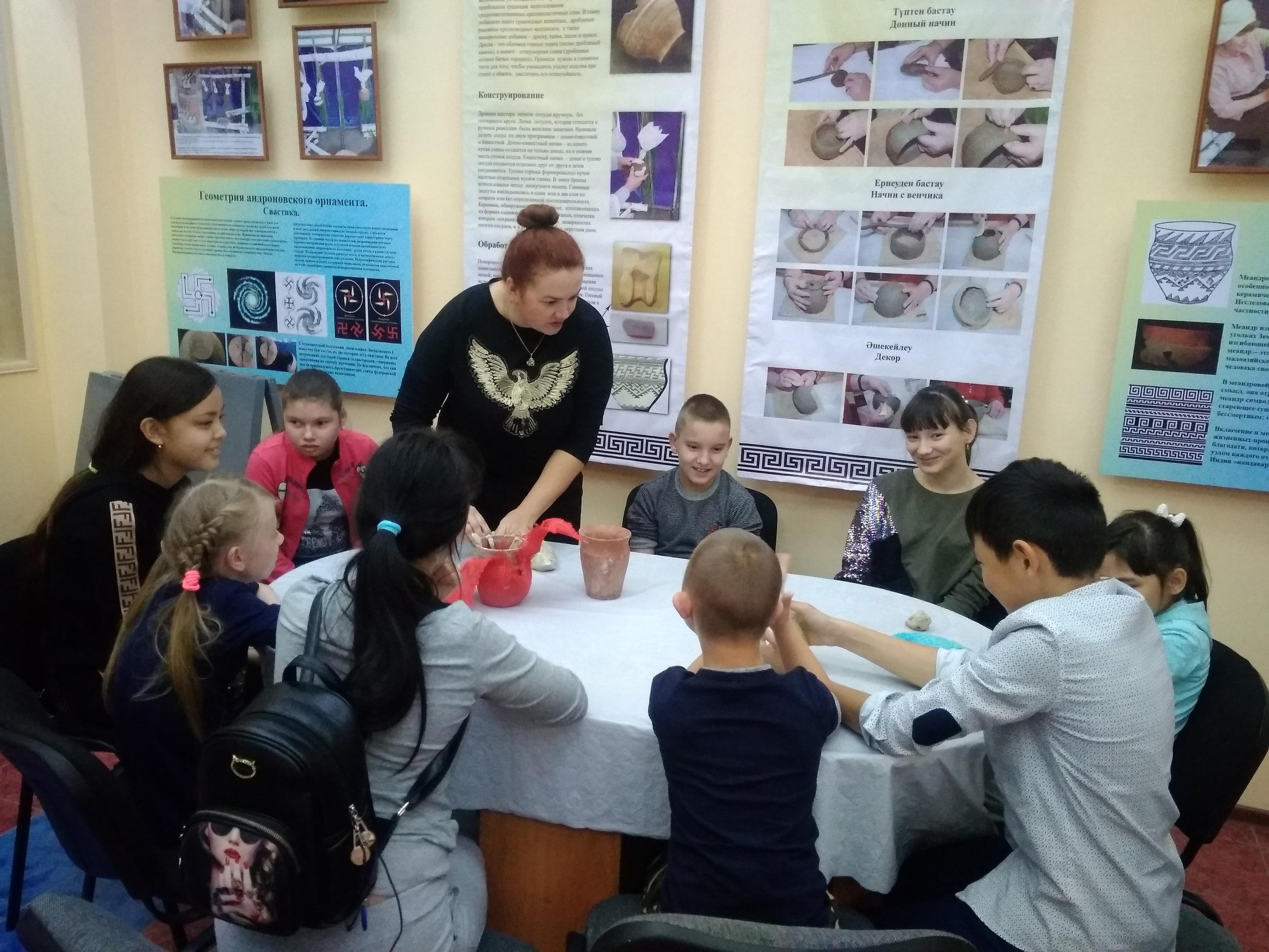 Уроки мастерства в городском музее