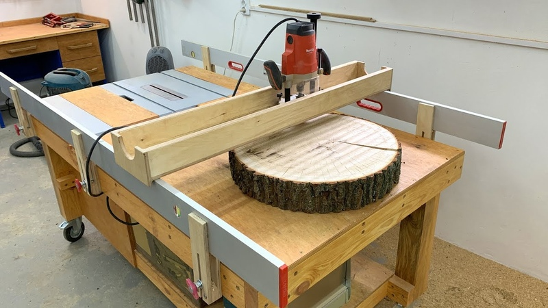 Adjustable Router Sled Homemade