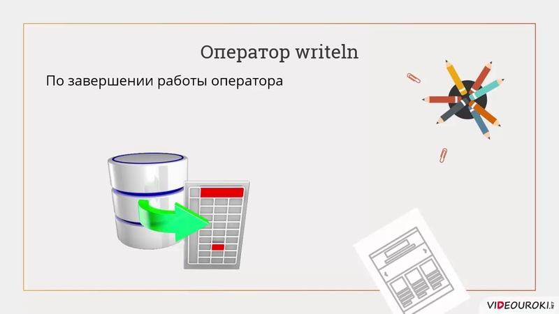 23 Организация ввода и вывода данных