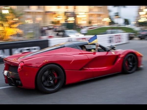 Суперкары Украины. Ferrari в Киеве (Ferrari in Kyiv, supercars Ukraine)