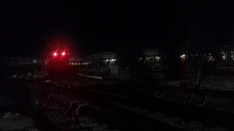 Поезда следуют в ДЕПО. Конец рабочего дня.