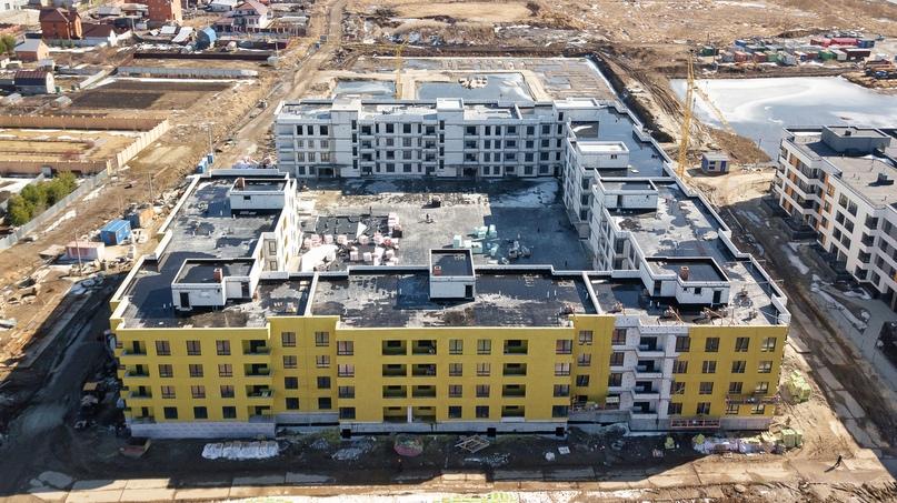 Отчет о ходе строительства апрель 2020 ЖК «Ожогино», изображение №2