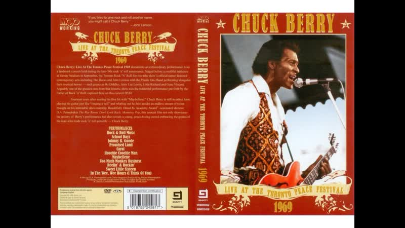 Chuck Berry - Sweet Little Sixteen (Live At The Toronto Peace Festival 1969)