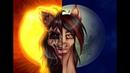 ..|Speedpaint| ..The Sun and The Moon