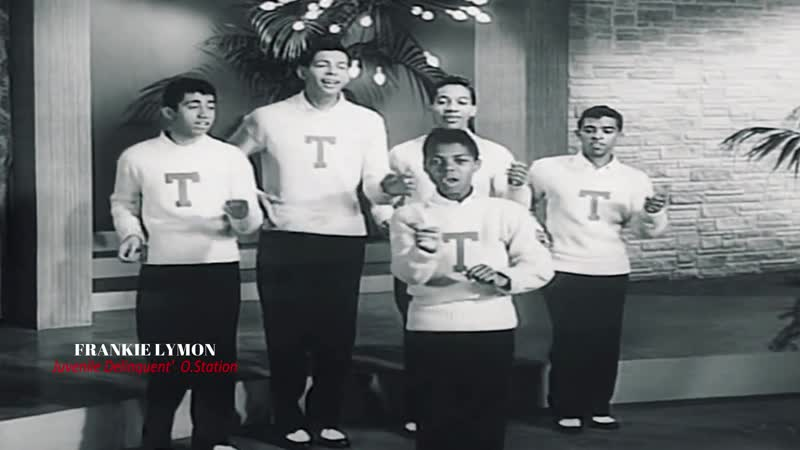 Frankie Lymon and The Teenagers - I'm Not A Juvenile Delinquent (1957)