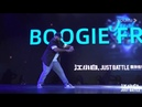 JUDGE SHOW POPPING BOOGIE FRANTICK at Just battle vol3