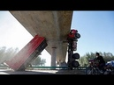 Эти парни умеют ездить Водители грузовика уровень БОГ Профи своего дела