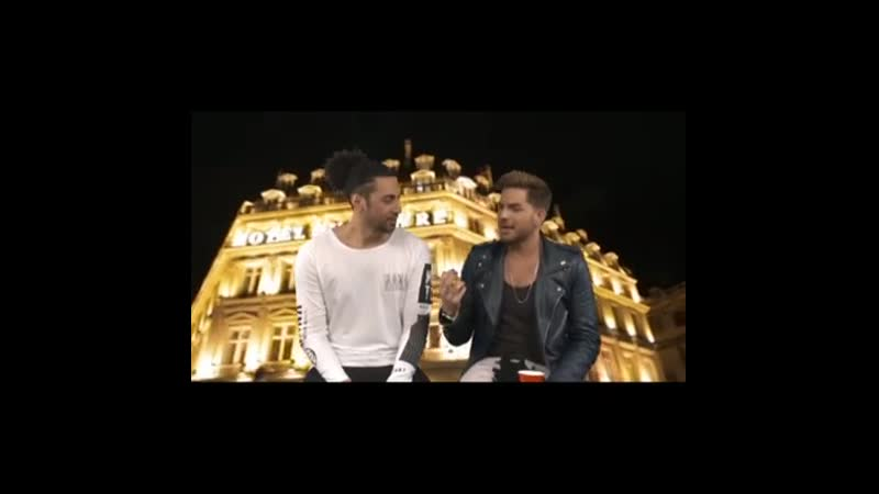 2015 08 05 MTV Australia Outtakes of Krit and Adam on a special night in Paris