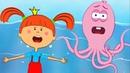 Жила-была Царевна - Новая серия! - Спасение осьминога - Обучающие мультики и песенки для детей