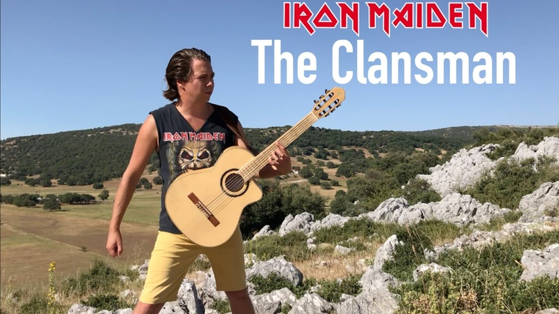 IRON MAIDEN The Clansman Acoustic by Thomas Zwijsen Nylon Maiden