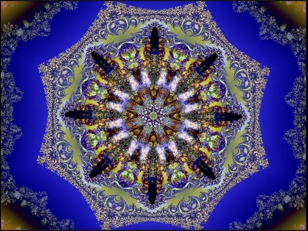 Aunika Two in one fractal Sound transforming matter in Space changing fractal relax relaxation