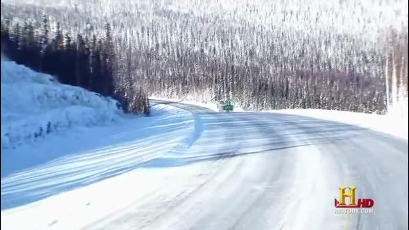 Ледовый путь дальнобойщиков 4 сезон 13 серия русский перевод Серж и Алекс