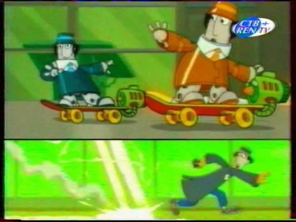 Гаджет и гаджетины СТВ REN TV 2003 Заставка мультсериала