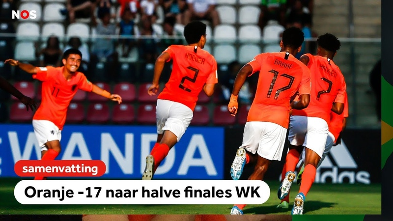 Oranje -17 naar halve finales WK! | WK onder 17 | NOS Sport