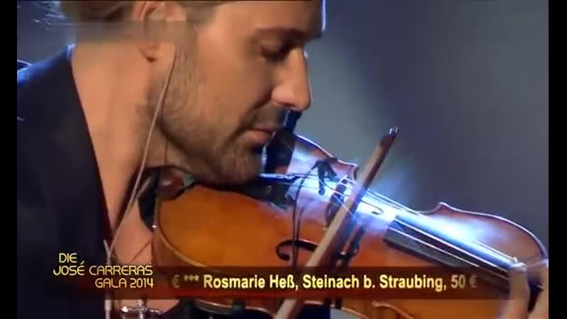David Garrett Bruch Violin Concerto No 1 2 Adagio 2014