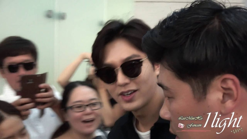 Lee Min Ho 20160728 Incheon Airport 미국 출국