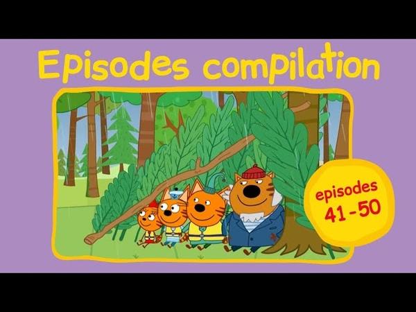Kid E Cats Сompilation 5 Episodes 41 50 Kids cartoons