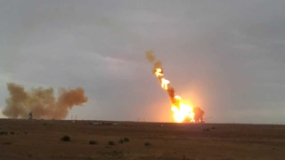 HD-video очевидцев Аварииныи запуск ракеты-носителя Протон М 2 июля 2013 года