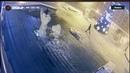 Ледяную скульптуру разгромили у Михаило Архангельского Кафедрального Собора в Ижевске