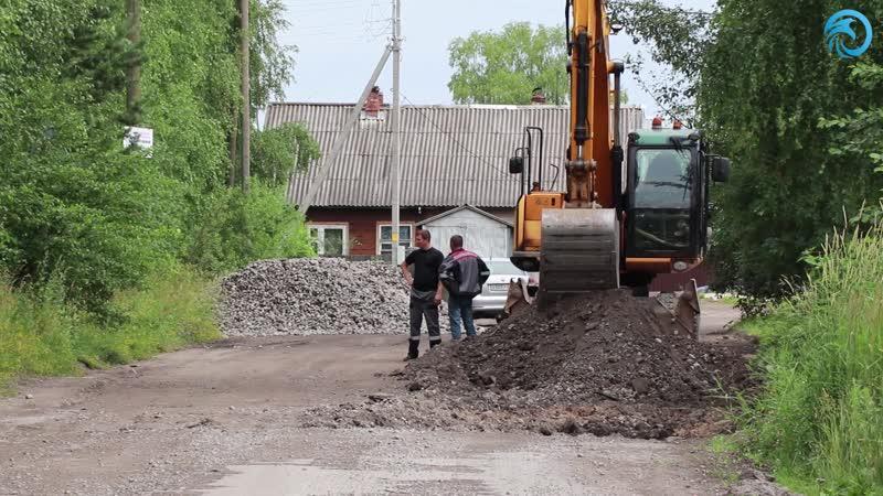 В Соколе продолжается ремонт дорог и тротуаров