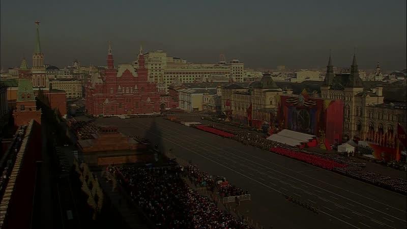 Анонс торжественного марша, посвященного 75-й годовщине парада 7 ноября 1941 года на Красной Площади (07.11.2016)