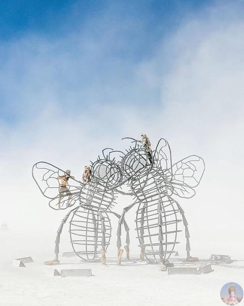 Фото креативных работ с фестиваля Бернинг мен 2019
