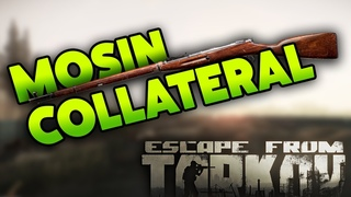 INCREDIBLE MOSIN IRON SIGHT COLLATERAL!! | EFT_WTF  | Escape from Tarkov Funny & Epic Gameplay