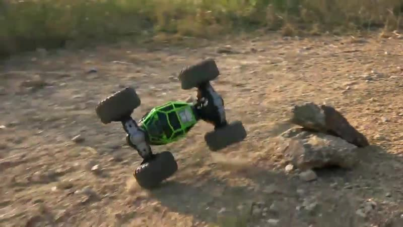 Машинка трансформер Big Foot Hyper Actives Stunt 48см и Leopard King 34см и 40 см