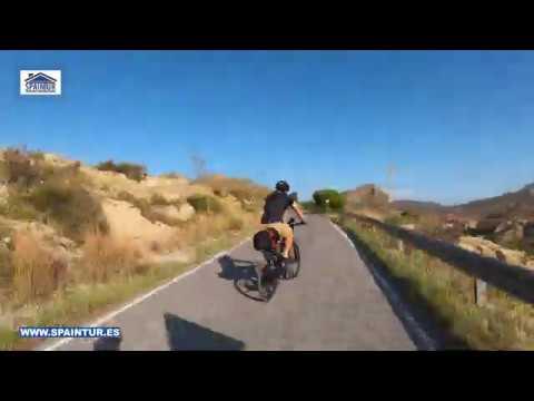 Поездка на велосипедах на плотину и озеро Tibi в Аликанте, Испания Горы, Красоты, Природа и Шашлык