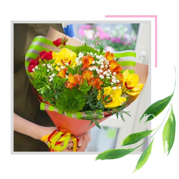 💐 Абсолютно любой букет с орхидеями