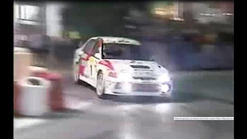 Mitsubishi Lancer Evolution Driven By Tommi Makinen
