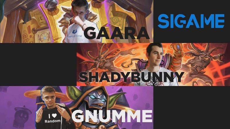 Gaara Shady Bunny Gnumme in an intellectual HS show SIGame Season 4 Episode 3