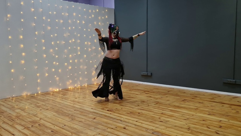 Ksenia Volcheg performes Sashi's choreo Dagaz tribe