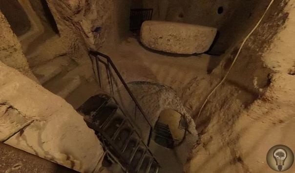 Квартиры прямо в скалах, вырубленные тысячи лет назад  диковинная Каппадокия