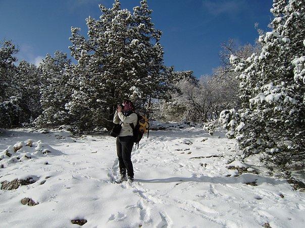 Снег в Крыму бывает