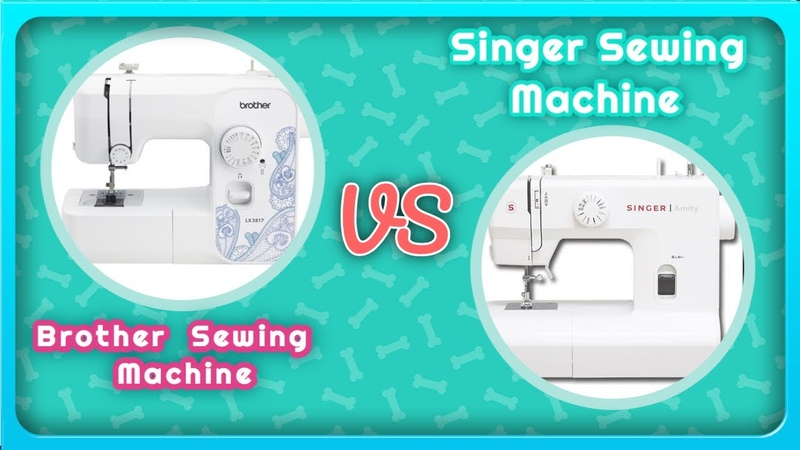 Brother Sewing Machine VS Singer Sowing Machine review