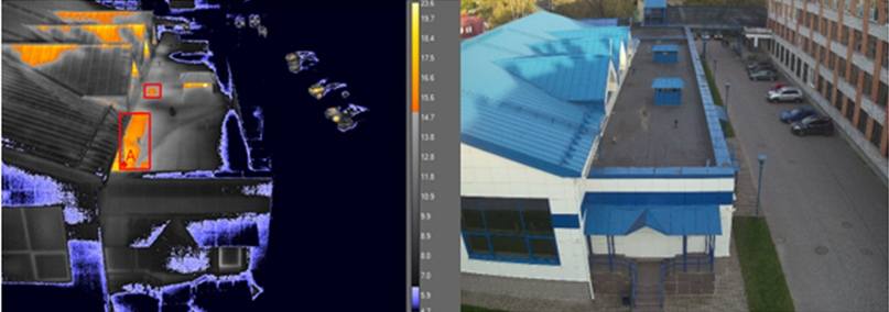 Тепловизионное обследование гидротехнического сооружения, изображение №2