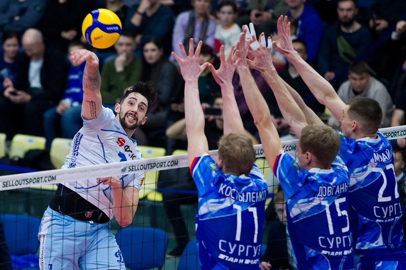 Волейбольный клуб «Динамо» начал 2020-й год домашней победой