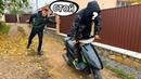 Кто угнал скутер Олега Преподал урок Пранк для брата скрытая съёмка