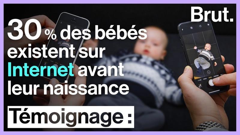 Avant même d'être nés 30 % des bébés existent déjà sur Internet