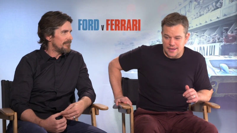 Christian Bale, Matt Damon talk 'Ford v. Ferrari' at world premiere in Los Angeles | FOX5