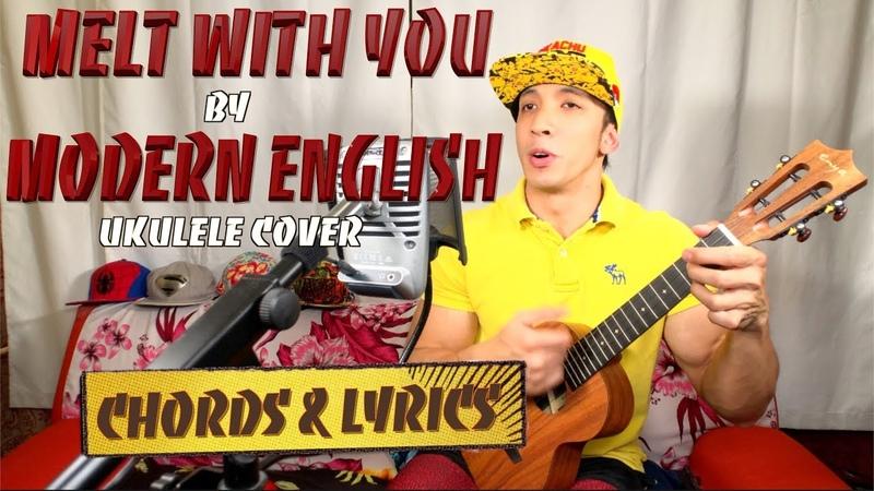 Melt with You - Modern English UKULELE cover on Enya EUT-X1 Shure MV51 chords lyrics