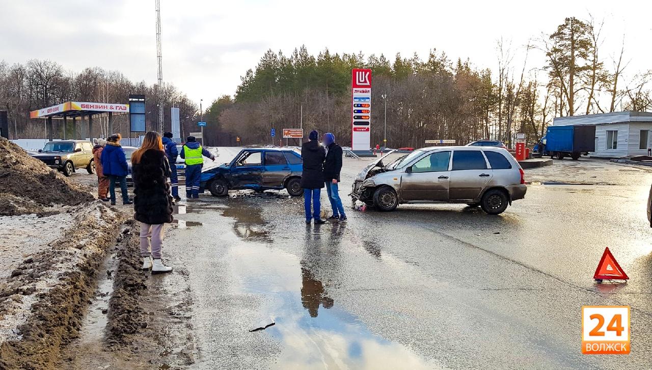 ДТП на границе с Татарстаном