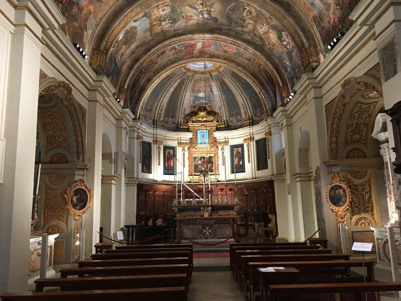 Hw87o_1SLWs Церковь Пресвятой Богородицы Побед в Валлетте.