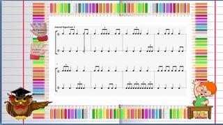 Триоль ритм упражнение плюс - сольфеджио