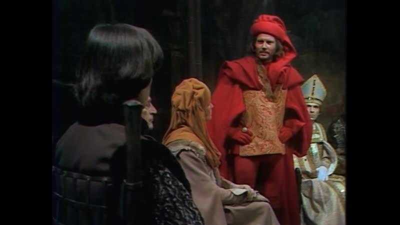 Проклятые короли мини сериал серия 4 Les rois maudits 1972 режиссер Клод Барма