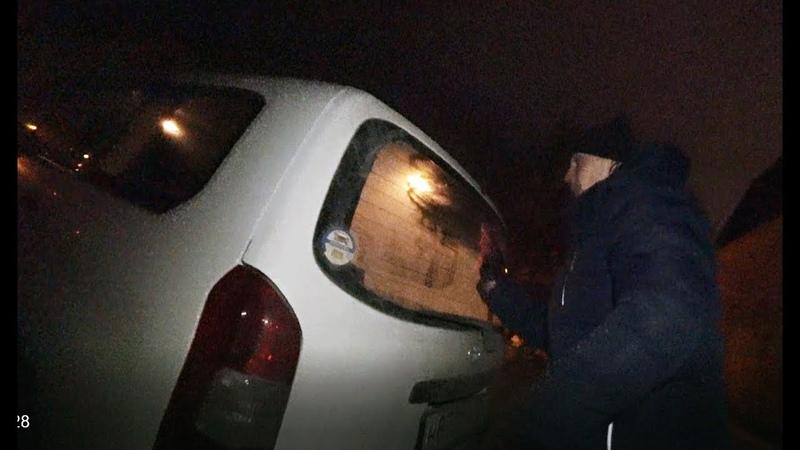 Полудохлые нарки решили кинуть таксиста но что то пошло не по плану моет машину
