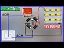 Convert 220v to 12v Dc power supply use 225j capasitor connect 12v led to 220v without transformer